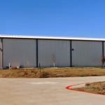 steel industrial warehouse building