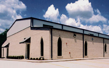 One Example of a RHINO Steel Church Building
