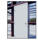 Steel Building walk-in door
