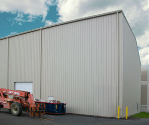 Steel industrial buildings industrial building construction for How far can granite span without support