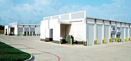 RHINO white mini-warehouse metal storage buildings