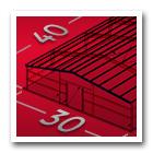 illustration of 30 x 40 steel building