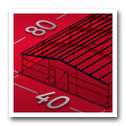 40 x 80 Metal Building Icon