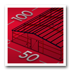 50 x 100 Metal Building Icon