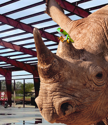Building Green with Red-Iron | Rhino Steel Buildings
