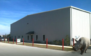 RHINO prefab metal building warehouse