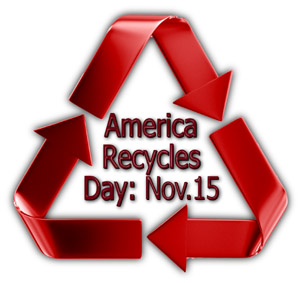 Steel buildings and America Recycles Day