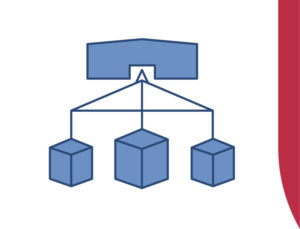 Graphic depiction of a metal storage building.