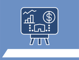 Icon depicting the advantages of metal building kits for businesses.