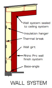 Pro-Value Insulation Systems for RHINO Steel Building Systems