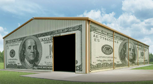 How much does a pre engineered metal building cost for Cost to build a house in iowa