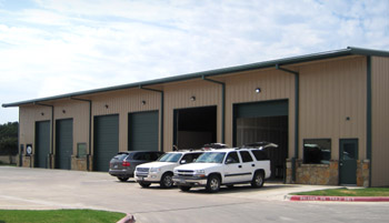 RHINO Steel Building Auto Repair Shop