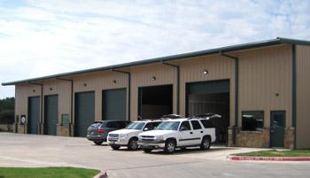RHINO Steel Building Auto Repair Shop