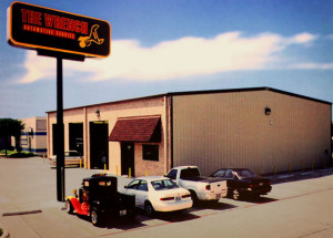 Mr. Wrench Mechanics Garage built with a RHINO metal building system