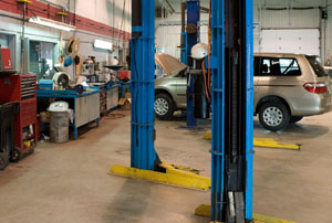 RHINO steel buildings work well as auto repair shops and garages