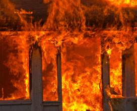 Steel buildings do not add fuel to a fire like wood buildings