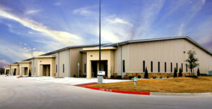 Photo of a huge multi-unit industrial park in Argyle, Texas.
