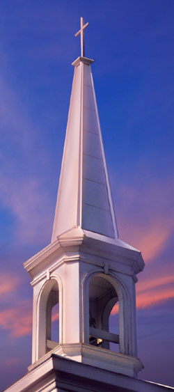 Practical, economical, durable steel church buildings.