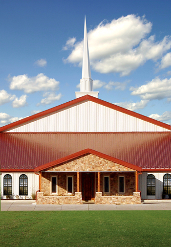 Church image for RHINO Steel Buildings