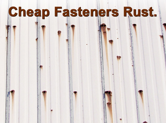 Cheap Fasteners Rust