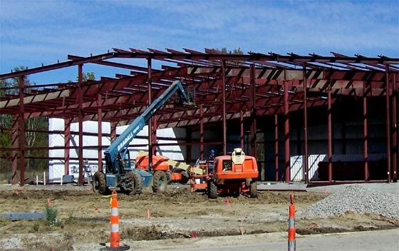 Constructing a Rhino Steel Building