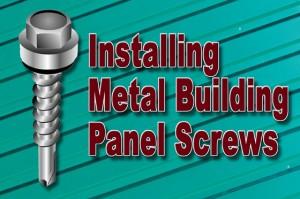 Installing Building Screws