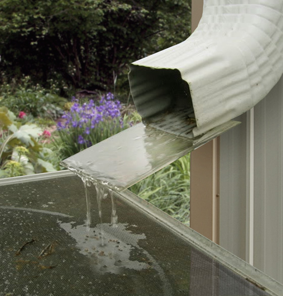 How To Collect Rainwater From Gutters Metal Building Gutters