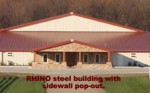 RHINO sidewall pop-out