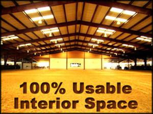RHINO 100 Percent Usable Space