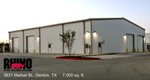 3831 Market St 7000 sq ft metal building