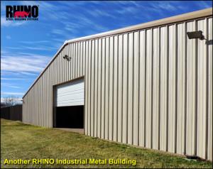 RHINO Industrial Metal Building- Market Street