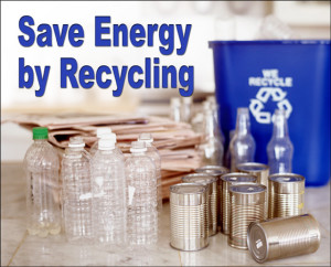 Save Energy by Recycling