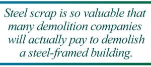 Steel scrap pull quote