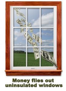 Insulated Windows Save Money