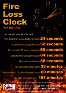 Fire Countdown Infographic