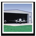 Steel Aircraft Hangars
