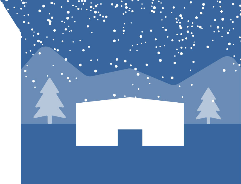 How to Prepare a Steel Building for Winter