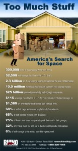 Too Much Stuff infographic