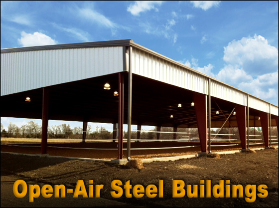 Open Shelter Metal : Metal pavilions and shelters open air building construction