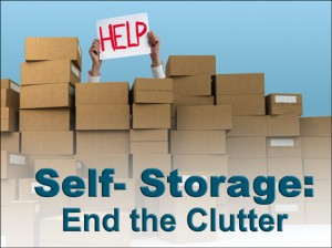Self-Storage- end the clutter