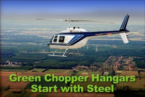 Green Helicopter Hangars