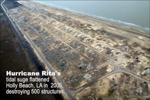 Hurricane Rita tidal surge