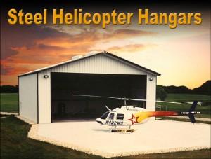 Steel Helicopter Hangars