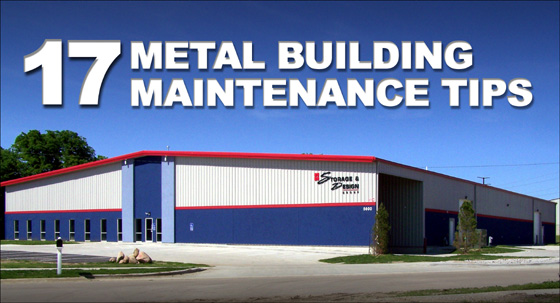 17 Metal Building Maintenance Tips
