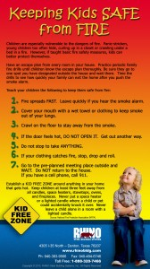 INFOGRAPHIC Kid Fire Safety Tips