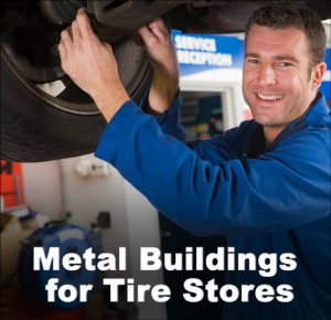 Metal Buildings for Tire Stores 2