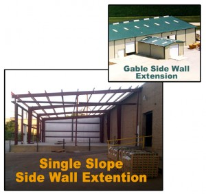 Side Wall Extensions