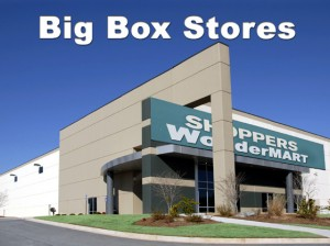 Metal Buildings as Big Box Stores