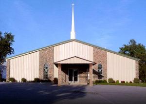Photo of a RHINO church building in Texas.
