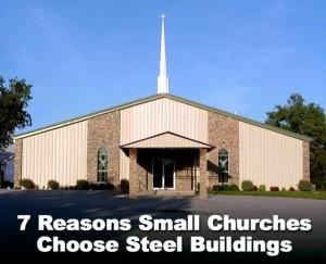 Small Steel Church